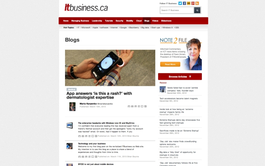 ITBusiness Blogs